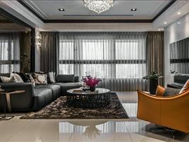 住宅空间案例——轻奢160平方