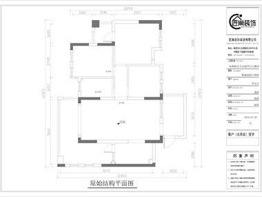 本案的设计主要围绕着美式风格展开,淡淡的米色墙面,