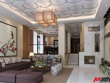 设计说明:这是一个五层的别墅,简洁朴实的外观和雅致