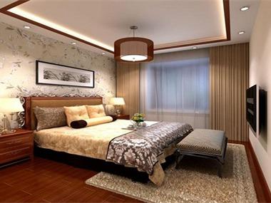 华佑装饰中式套餐整体样板房配置六大区域一:客餐厅配