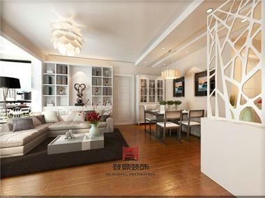 现代简约风格,简单,大方,明亮,简单的设计,布局的