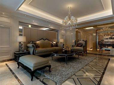 居室该有的不只是豪华大气,更多的是惬意和浪漫,通过
