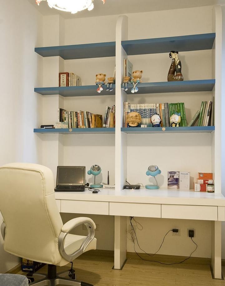 地中海书房工作区实景图