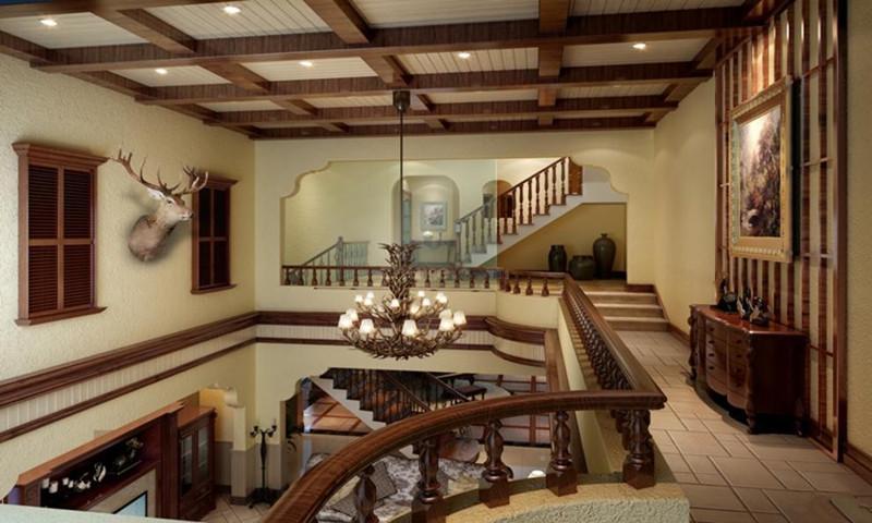 融科橡树澜湾楼梯