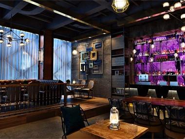 咖啡厅餐位区效果图