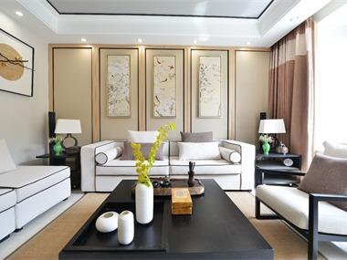其它客厅沙发背景墙实景图