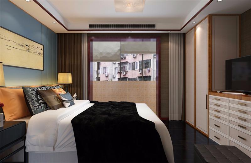 中式卧室其它效果图
