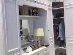 现代衣帽间衣柜实景图