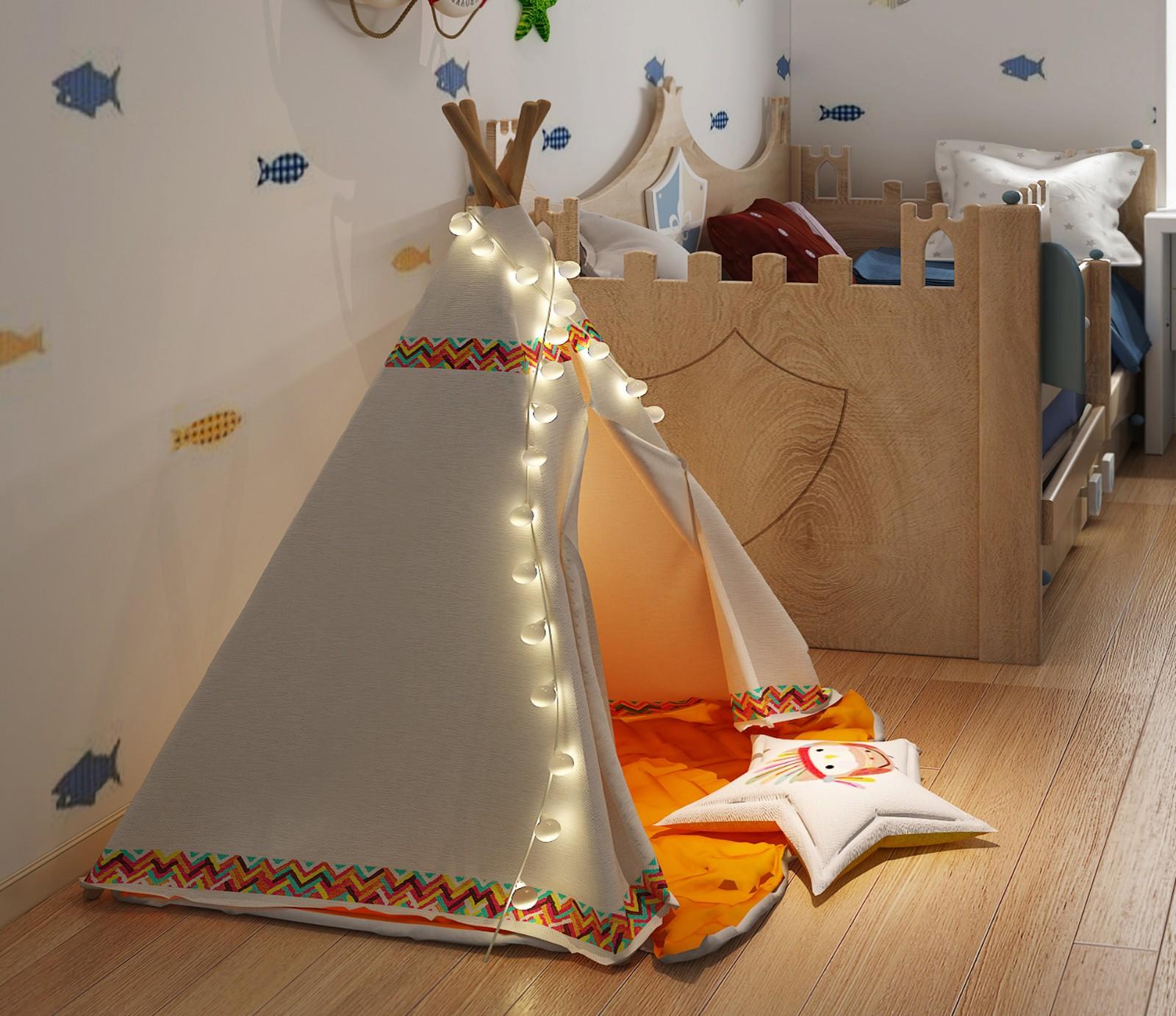 混搭儿童房其它效果图