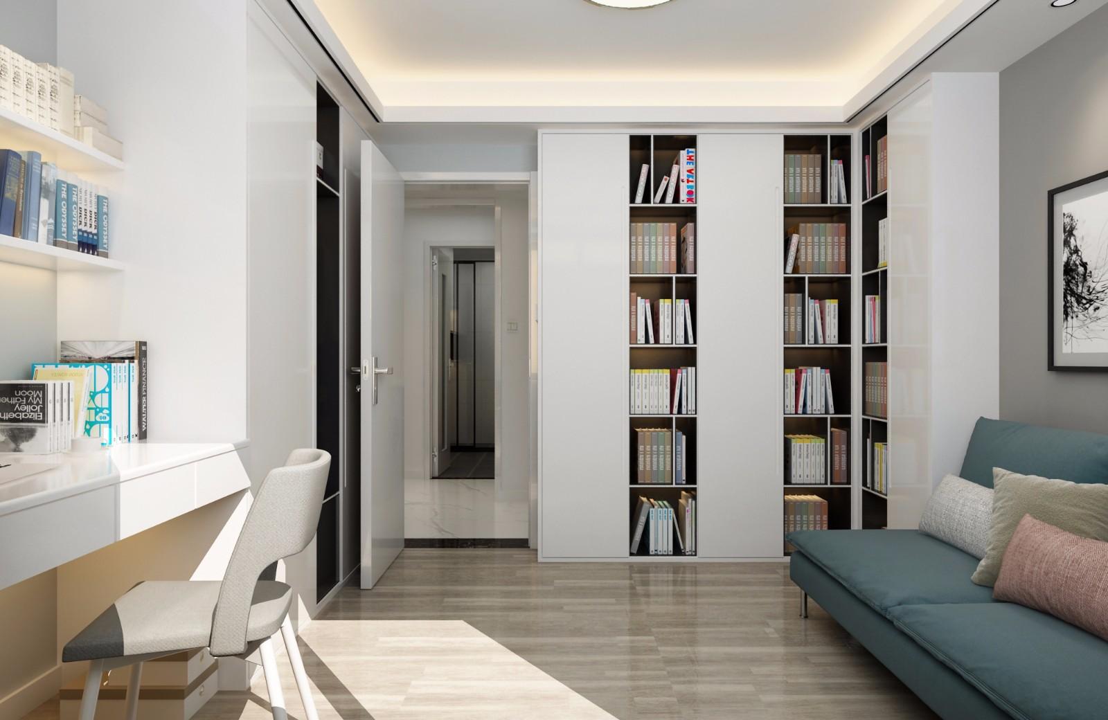 现代书房其它效果图