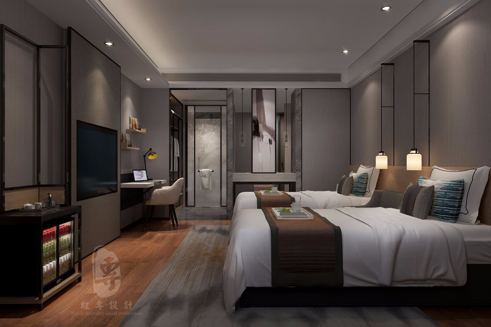 福建专业酒店设计-红专设计 名仕国际精品酒店