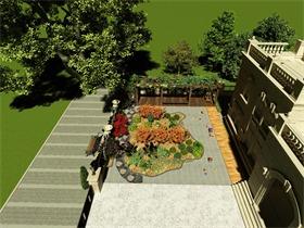 现代庭院其它效果图
