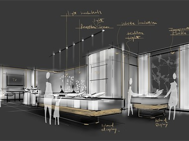 AUTEL无人机展厅设计丨概念