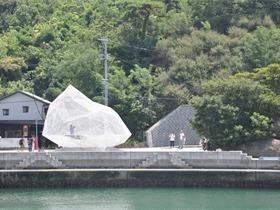 藤本壯介在直島設計了一座白色半透明的亭子 Naoshima Pavilion
