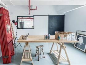 Lim + Lu林子設計將香港倉庫改造成住宅工作室