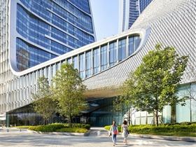 荷蘭建筑設計團隊UNStudio 操刀的杭州來福士廣場落成