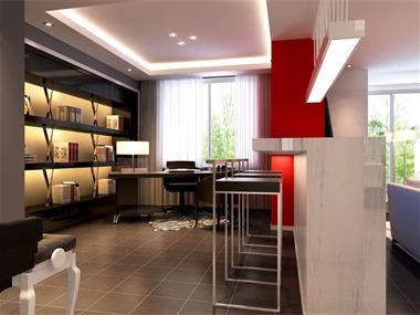 红色经典书房