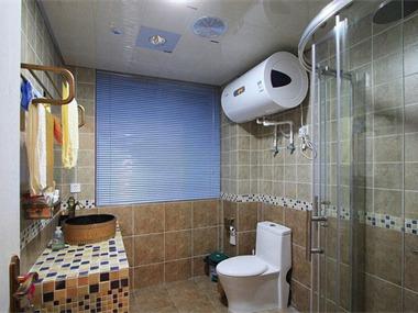 地中海风格婚房卫生间
