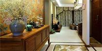 东南亚风格玄关设计 有种古朴又神秘的气息