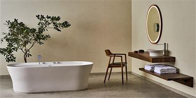 建筑设计师跨界设计卫浴 样子看起来很东方