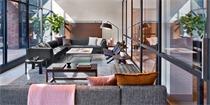 """纽约Arlo Hotel酒店设计 主打""""四星级的小房间"""""""