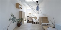 窄屋宽居,日本超窄地基建筑的完美空间设计