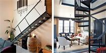 精选27款复式楼梯设计 家里是复式房的赶紧收藏起来吧