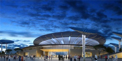 英国Grimshaw公布2020年迪拜世博会主题馆效果图 充满未来感