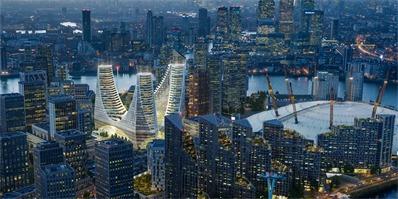 """这个耗资10亿英镑打造的""""皇冠"""",或将是伦敦下一个地标建筑"""