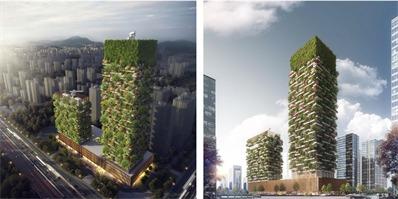 """中国第一座""""垂直森林""""预计于2018年完工 网友:空气不要太好"""