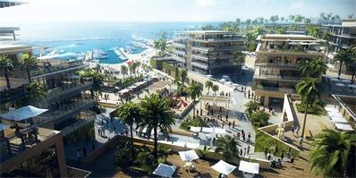 拾稼设计公布埃及JEFAIRA海滨总体规划首张效果图