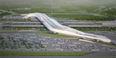 扎哈之作|意大利南部那不勒斯阿夫拉戈拉火车站一期工程已竣工!