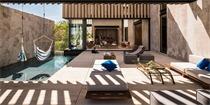 一个充满墨西哥地域特征的独立住宅