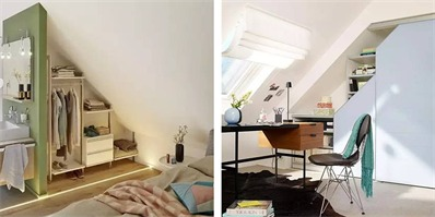 阁楼的收纳艺术 改造前一定要先做好空间格局规划