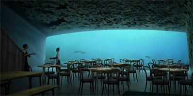 欧洲首家水下餐厅Under,预计于2019年亮相