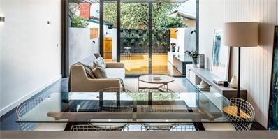 卡尔顿排屋别墅:夹缝中的阳光住宅