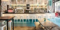 上海Hooked餐厅:以海滩元素打造海鲜餐厅