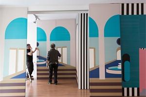 "Serge Ferrari公司作品展""Stamskin宫殿"",2018 米兰设计周"
