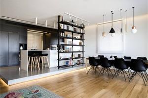 悉尼147平米三居公寓 时尚风海景房