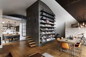 复古工业风!Loft 9b,一所在钢筋水泥里也不失温柔的阁楼公寓!