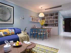 设计师罗俊杰丨北欧二居室,这样治愈系的美家你心动了吗?